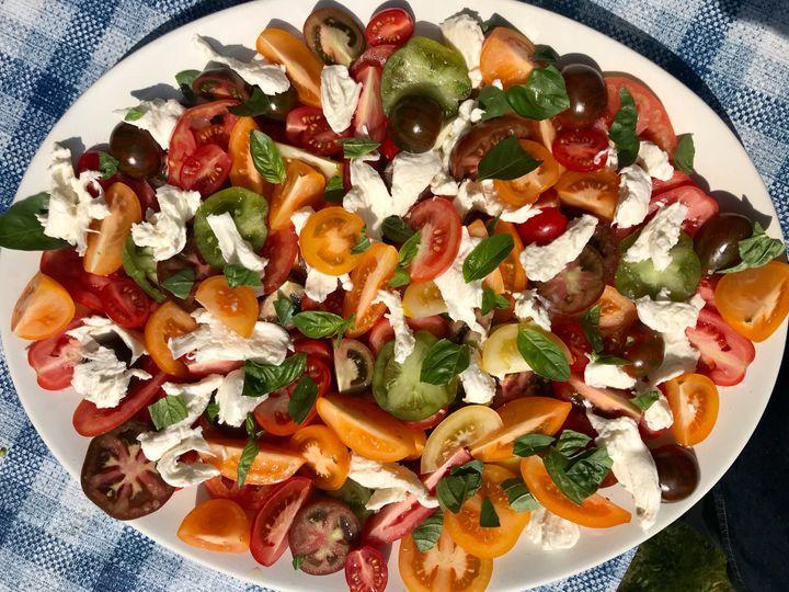 Tomato, Basil & Mozzarella