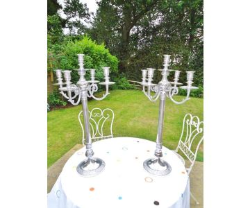 Marrakesh - Pair of High Quality Morrocan Style Candelabra 78cm