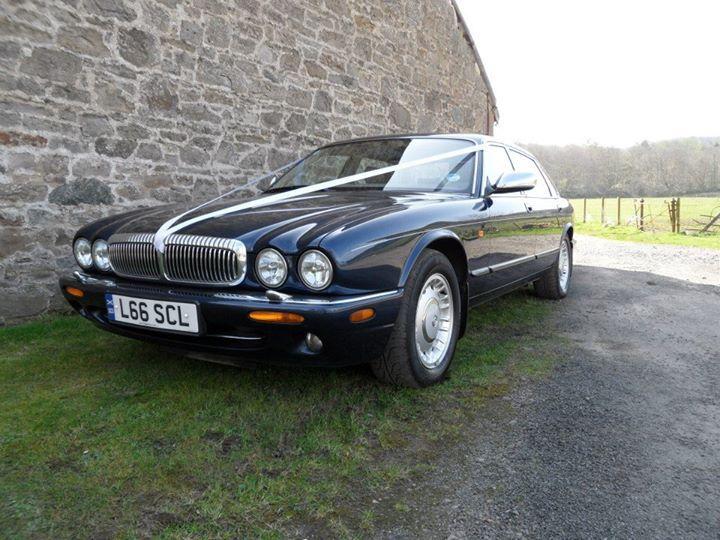 Sapphire Blue Daimler lwb.
