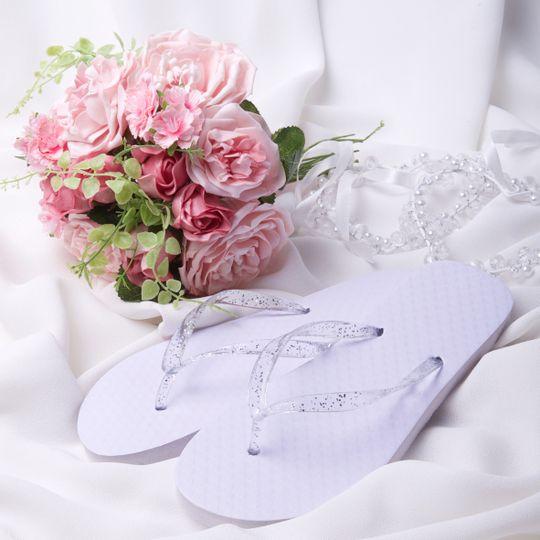 Wedding Flip Flop Flowers