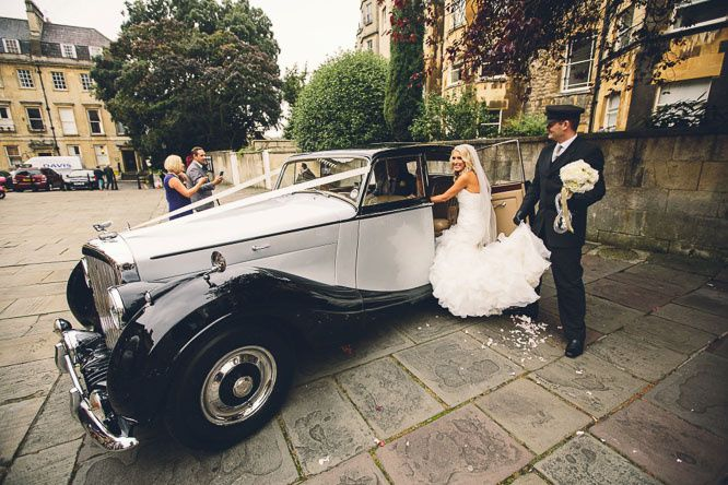 Assembly Rooms Wedding Car