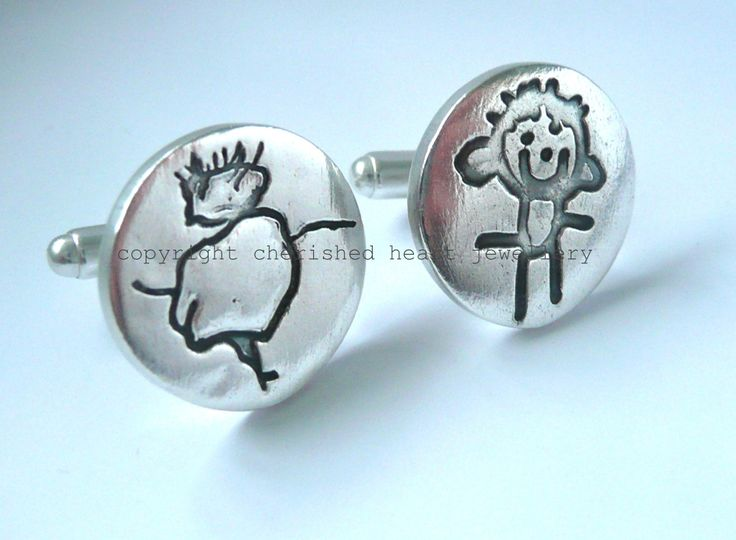Childs drawings Cufflinks