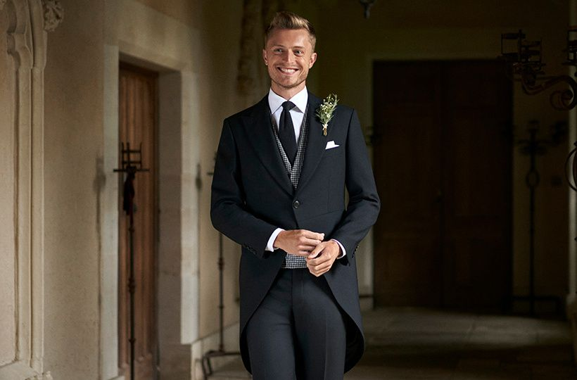 Tailcoat with buttonhole