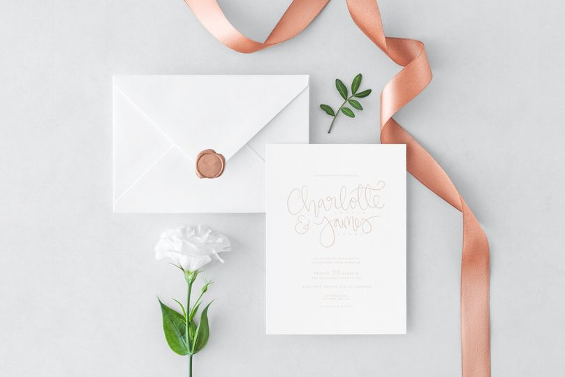 buttercup cottage dusty pink wedding invitation 4 168763