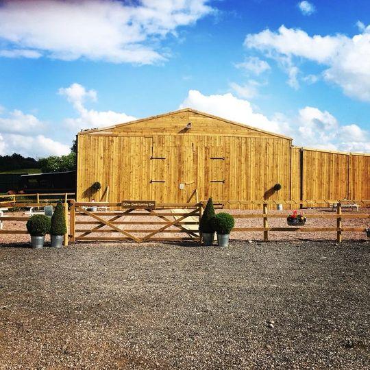 Bilston Brook Wedding Barn 1