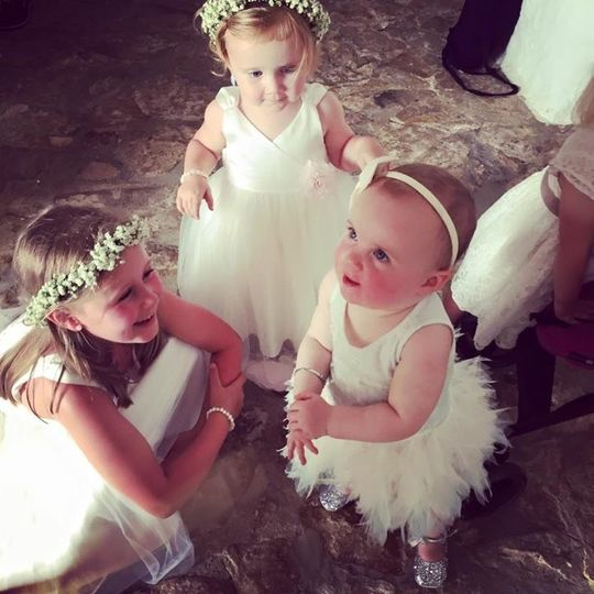 Floral crowns for the little ones