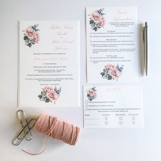 Rose Day Invitation