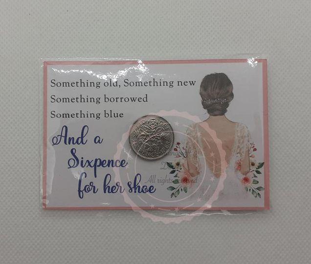 Lucky sixpence