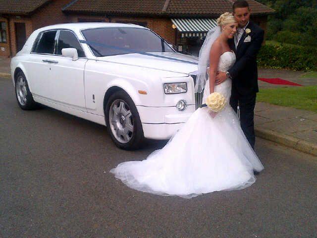 Lovely wedding car hire