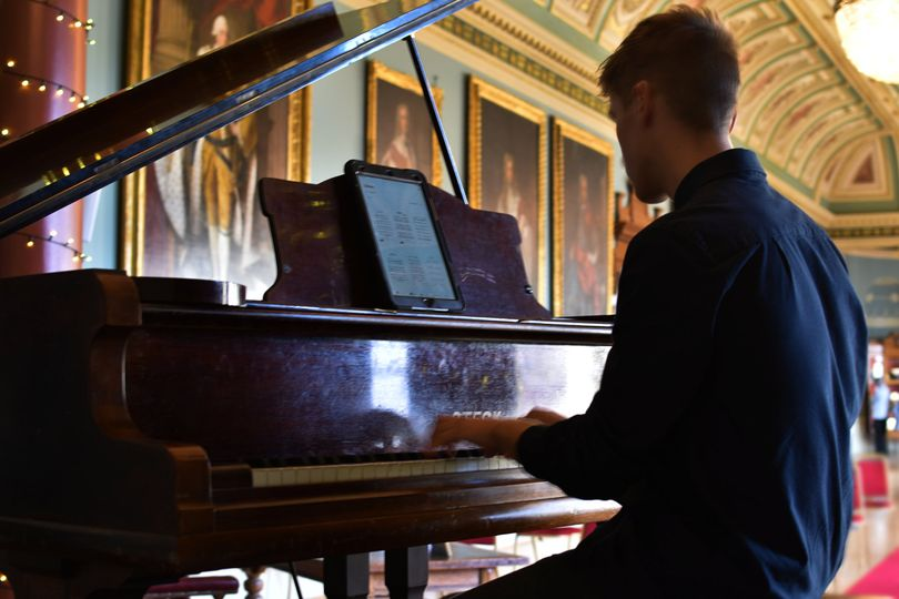 Playing at Guildhall Heritage Day 9/20