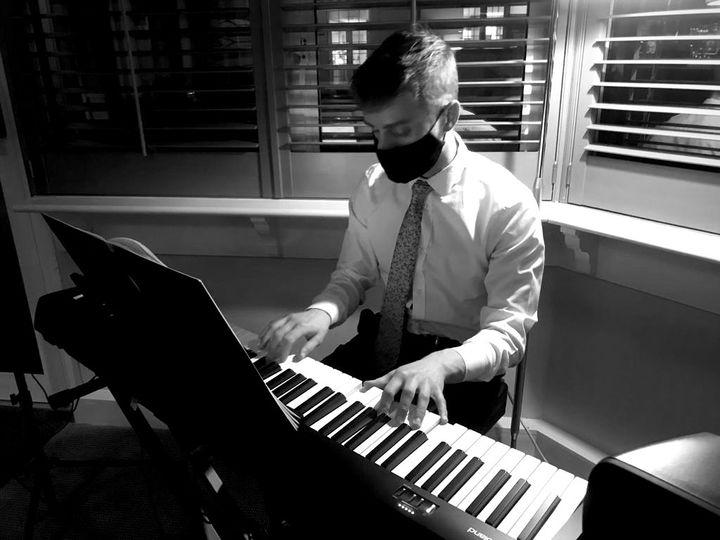 Playing at Brockencote Hall, Christmas Eve '20