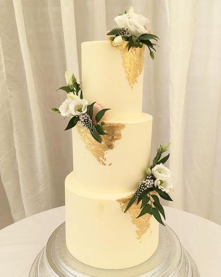 Gold leaf & florals