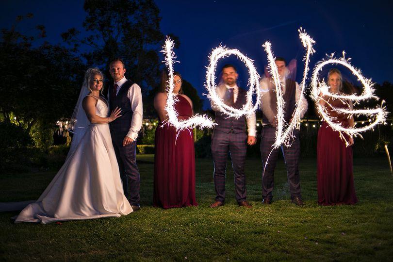 Love lights up