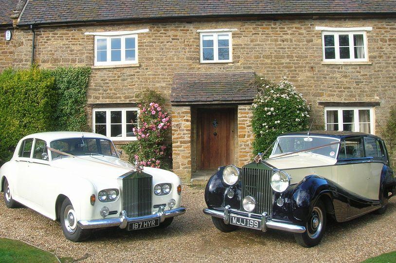 2 stunning Rolls Royces