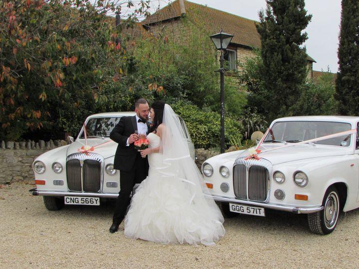 Pair of Daimler Limousines