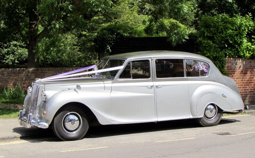 1961 Silver Princess Limousine