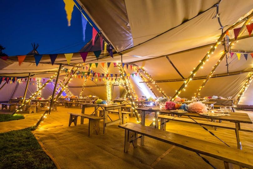 Marquee Hire Blue Sky Tipis 6