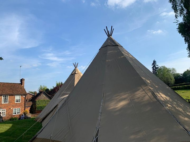 Marquee Hire Blue Sky Tipis 35