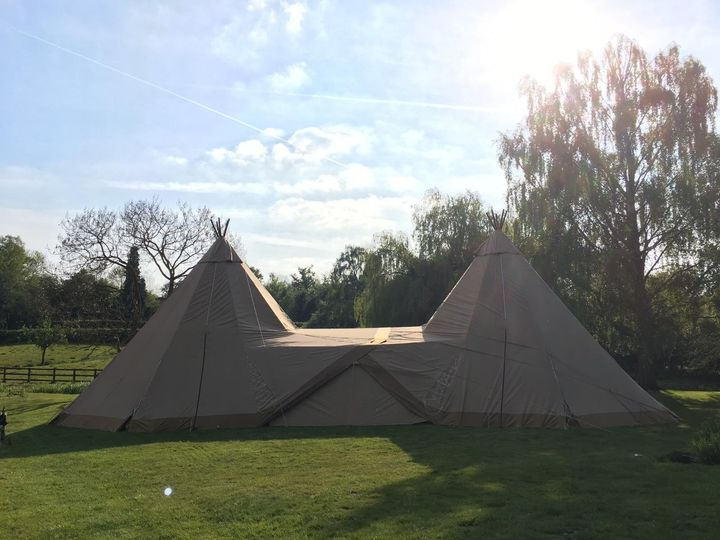 Marquee Hire Blue Sky Tipis 36