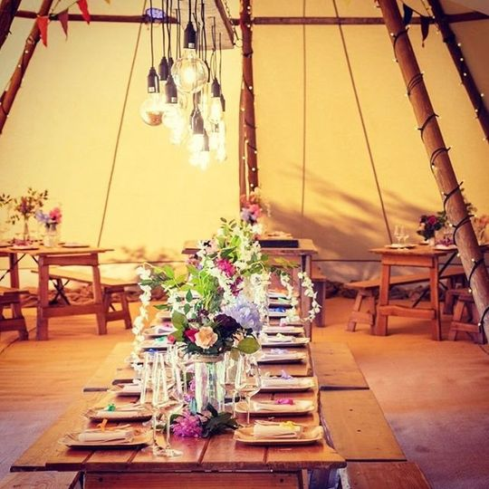 Marquee Hire Blue Sky Tipis 37