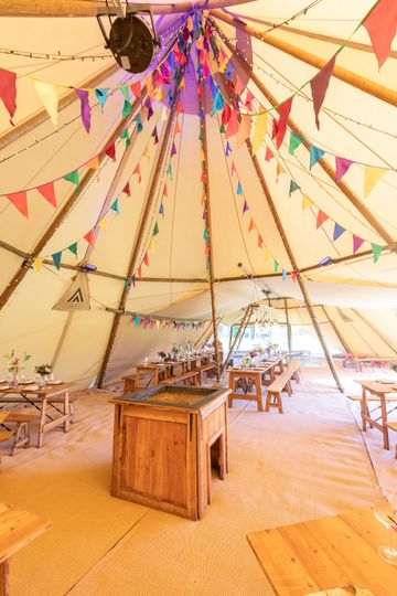 Marquee Hire Blue Sky Tipis 39