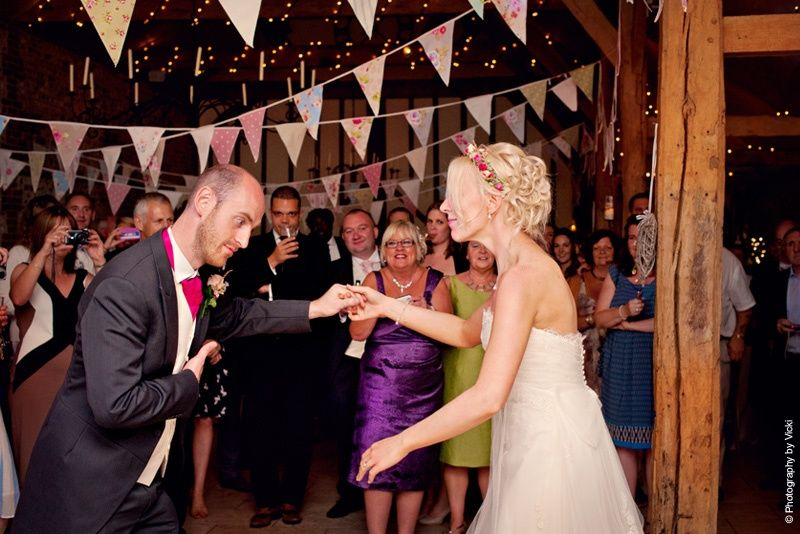 First dance at Upwaltham Barns
