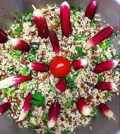 egyptian salad tastes