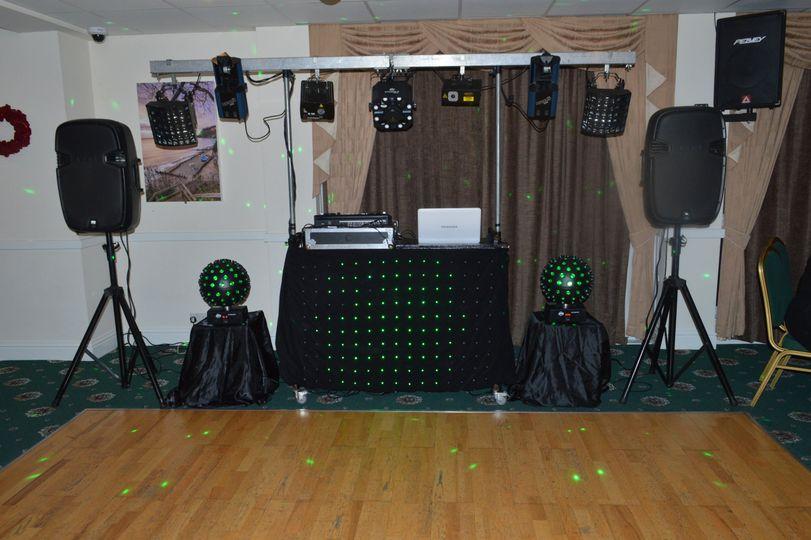 Another disco setup