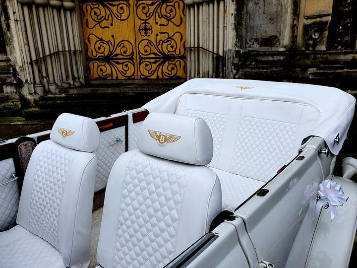 Interior Beauford Bentley replica