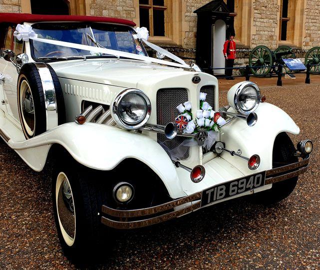 Beauford convertible Bentley