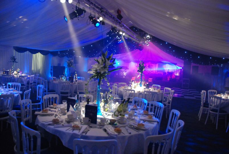 Winter Event with our lighting