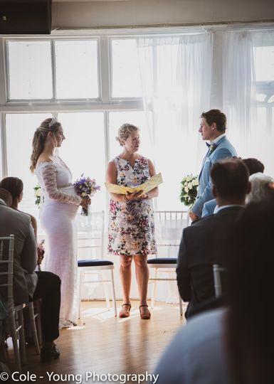 The wedding !
