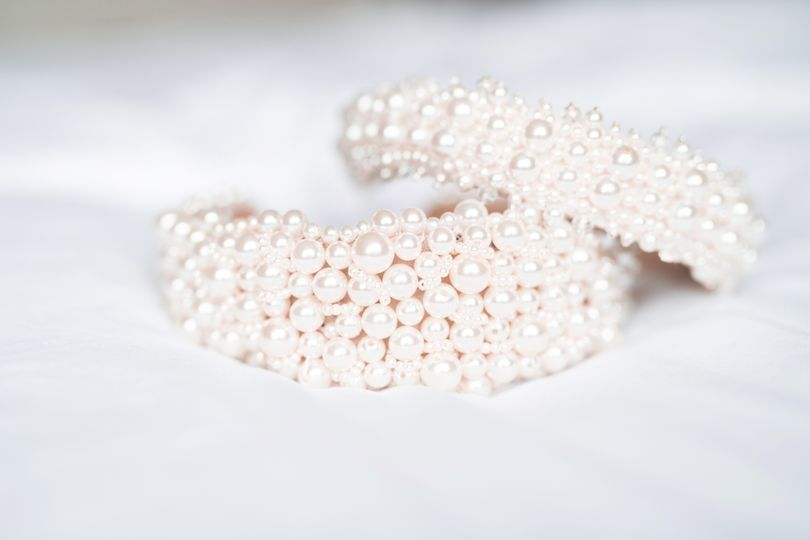 Our beautiful Pearl Hairband