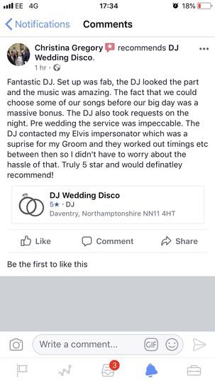 Music and DJs DJ Wedding Disco 60