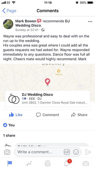Music and DJs DJ Wedding Disco 62