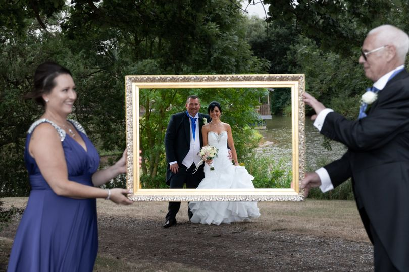 Newlyweds in the frame - Reel Fast Productions