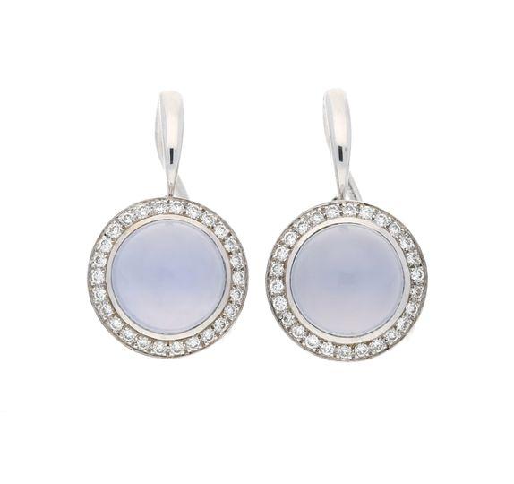 Winsor White gold earrings