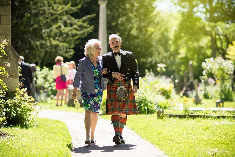 Scottish wedding attire - UK Wedding Photography