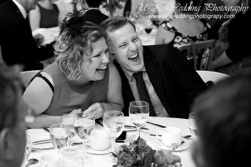 Endless laughter - UK Wedding Photography