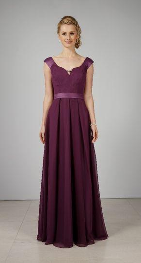 Full-length gown