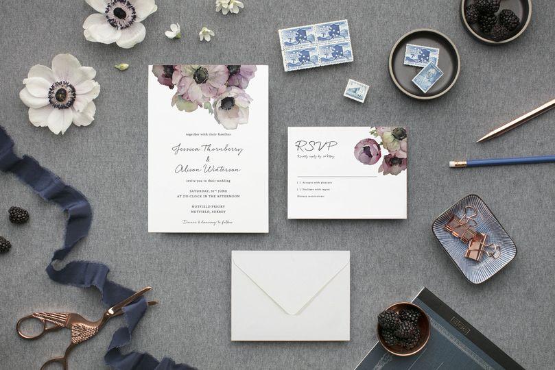 Stationery Invite Press 25