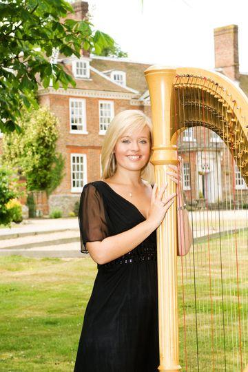 Music and DJs Nicola Veal - Harpist 6