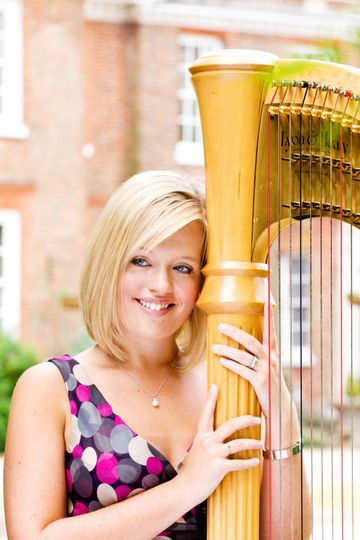 Music and DJs Nicola Veal - Harpist 9