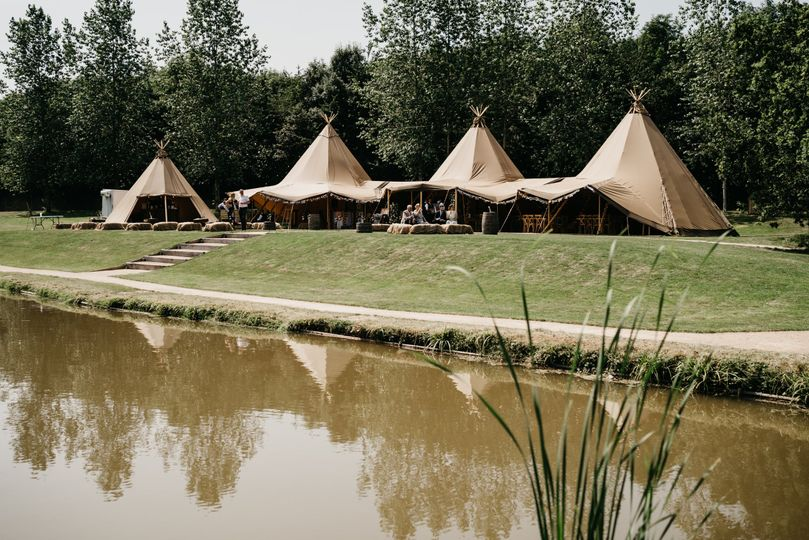 Our four hat tipi