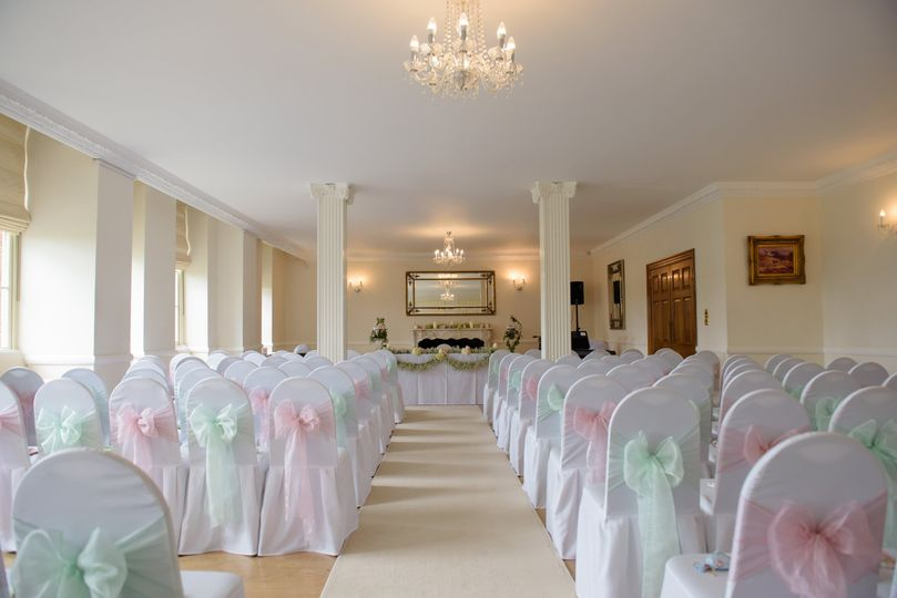 Ceremony in our Banqueting Hall