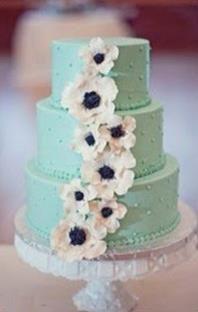 Mint themed wedding
