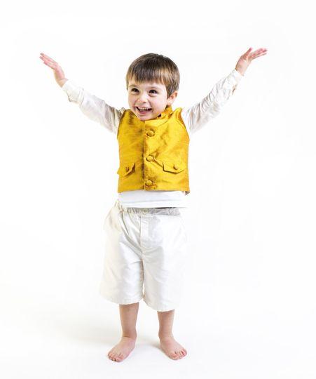 'Cavendish' silk waistcoat by Lychgate