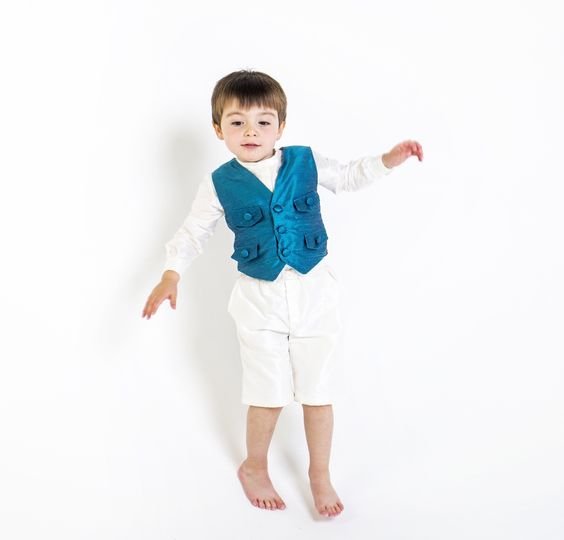 'Sudbury' silk waistcoat by Lychgate