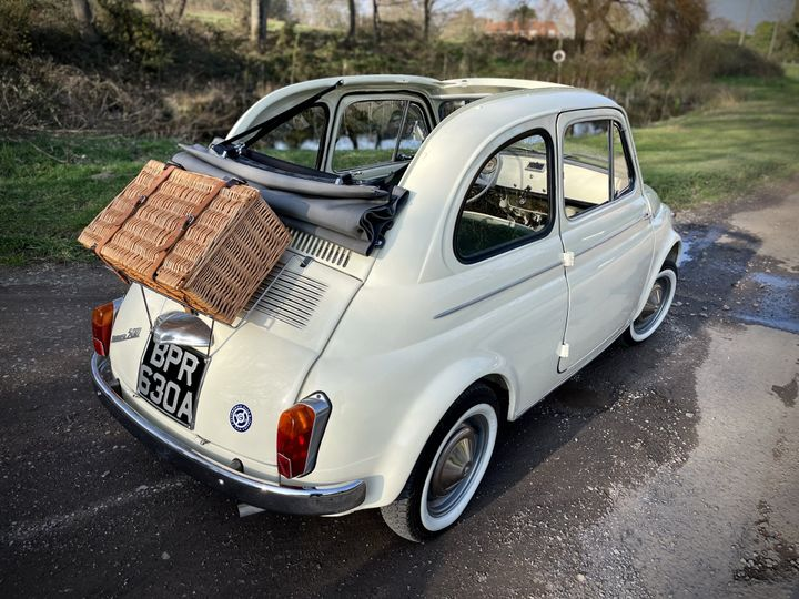 Beautiful vintage fiat 500