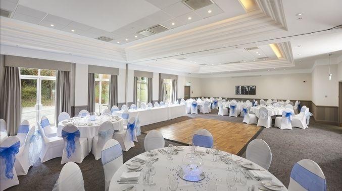 Light-filled reception room